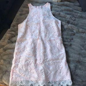BABATON white lace dress 👗